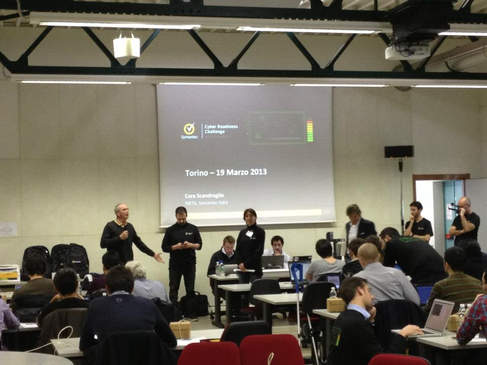 Cyber Readiness Challenge - Politecnico di Torino