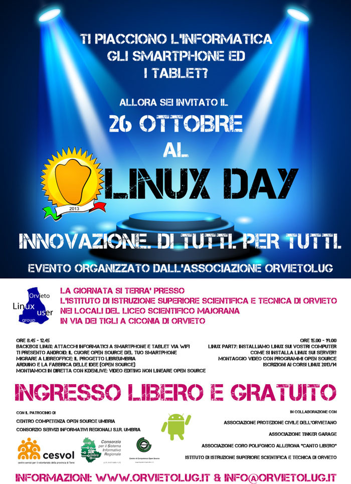 Linux Day 2013 Orvieto