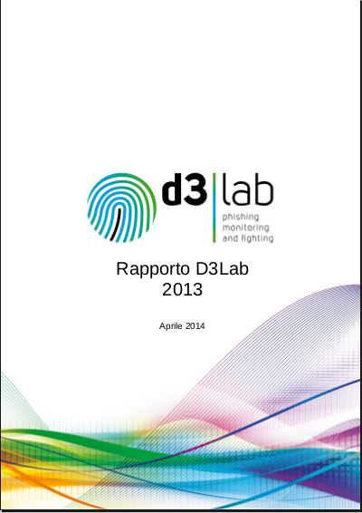 D3Lab Rapporto Phishing 2013