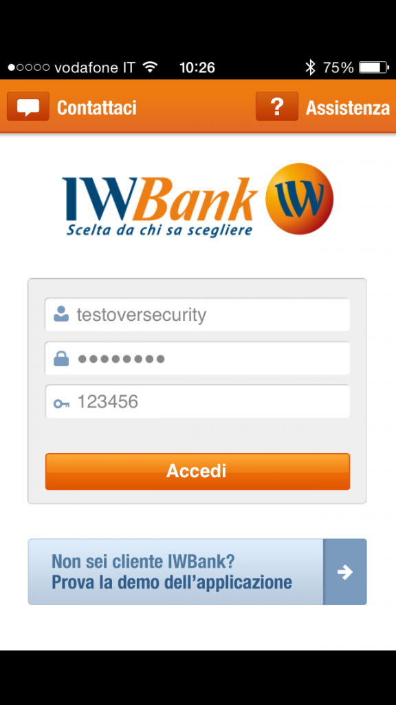 IWBank_ScreenShot_Login