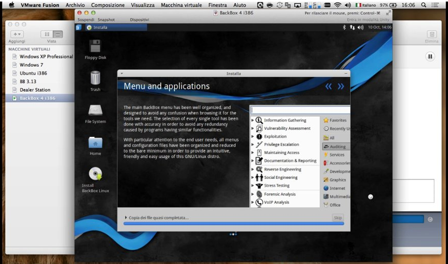 BackBox 4 - Installing in the Virtual Machine and Preview