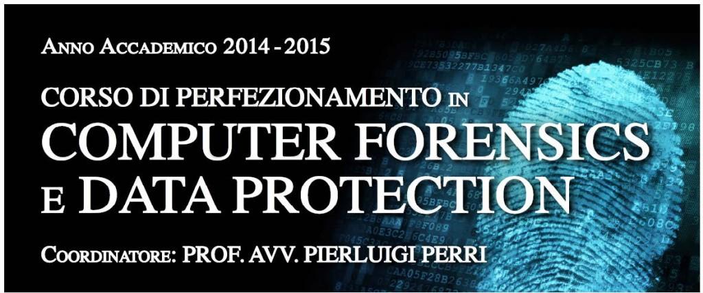 Locandina_Corso di perfezionamento in Computer Forensics e Data Protection